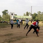 The Water Project: St. Kizito Lusumu Secondary School -  Students Play During A Midterm Competition