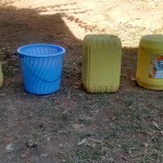 The Water Project: Shitoto Community, Laurence Spring -  Containers Used For Water