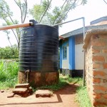 The Water Project: Ebubayi Secondary School -  Plastic Tank