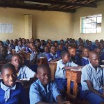 The Water Project: Namalenge Primary School -  Students In Class