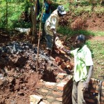 The Water Project: Wanzuma Community -  Spring Construction