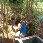 The Water Project: Igogwa Community -  Spring Construction