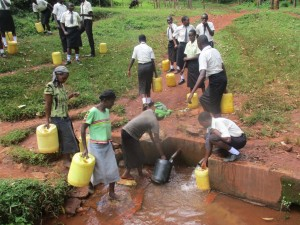 The Water Project : 5-kenya4834-standing-by-for-community-members