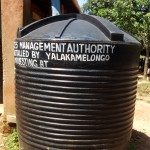 The Water Project: St. Antony Shijiko Primary School -  Plastic Water Tank