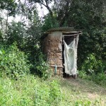 The Water Project: Shitungu Community C -  Latrine