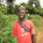 The Water Project: Kitonki Community, War Wounded Camp -  Interview Santigie Kamara