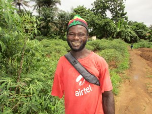The Water Project:  Interview Santigie Kamara