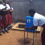 The Water Project: Bishop Sulumeti Girls Secondary School -  Hand Washing