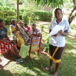 The Water Project : 6-kenya4719-sylvia-midecha-leading-focused-group-discussion-on-sound-hygienic-practices