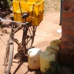 The Water Project: Futsi Fuvili Community, Patrick Munyalo Spring -  Water Containers