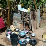 The Water Project: Mkunzulu Community, Museywa Spring -  Chicken And Utensils