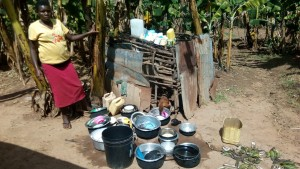 The Water Project : 6-kenya4750-chicken-and-utensils