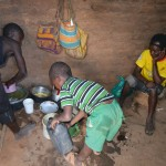 The Water Project: Kaani Community E -  Benjamin Household