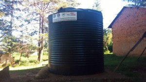 The Water Project:  Liter Plastic Tank With No Gutters