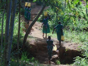 The Water Project:  The Walk Back To School
