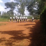 The Water Project: Evojo Secondary School -  Walking Back To School