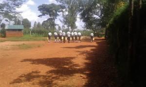 The Water Project : 6-kenya4834-walking-back-to-school