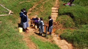 The Water Project:  Fetching Water From The Spring