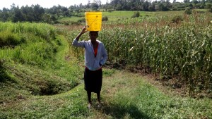 The Water Project : 6-kenya4848-carrying-water