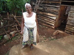 The Water Project:  Mrs Omasaba