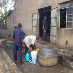 The Water Project: St. Kizito Lusumu Secondary School -  School Kitchen