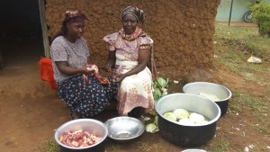 The Water Project:  School Cooks Preparing Meal