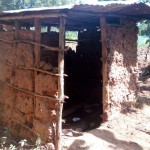 The Water Project: Mkunzulu Community, Museywa Spring -  Latrine