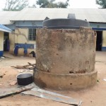 The Water Project: Ngaa Primary School -  Plastic Storage Tank