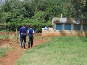 The Water Project:  Boys Walking To Their Latrines