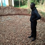 The Water Project : 8-kenya4663-field-officer-inspecting-foundation-work