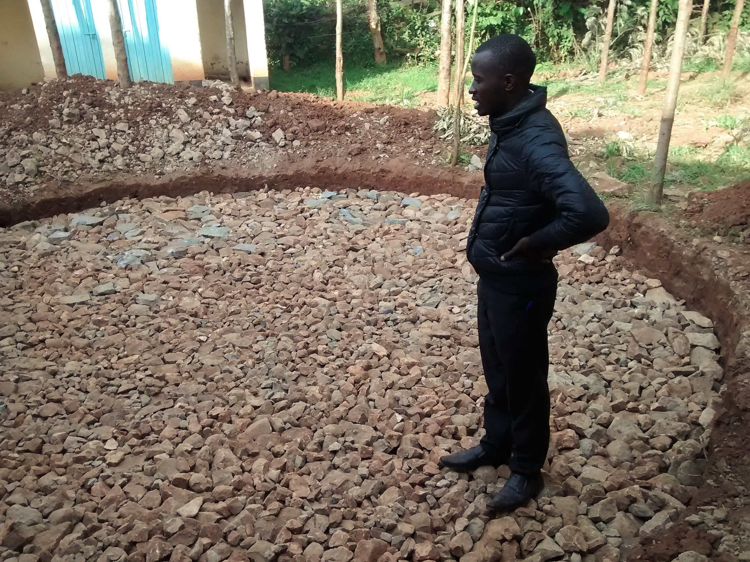 8 kenya4663 field officer inspecting foundation work