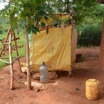 The Water Project: Ngaa Community -  Household Bathing Room