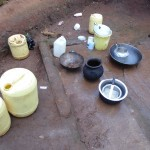 The Water Project: Ebuhando Community -  Water Containers