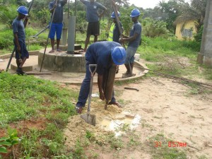 The Water Project:  Emptying The Drill Bit
