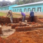 The Water Project: Bishop Sulumeti Girls Secondary School -  Building Latrines