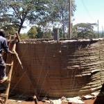 The Water Project: Ematsuli Primary School -  Tank Construction