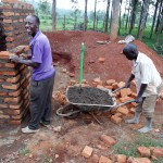 The Water Project: Ebukanga Primary School -  Latrine Construction
