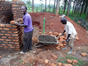 The Water Project : 9-kenya4666-latrine-construction