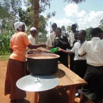 The Water Project: Evojo Secondary School -  School Lunch