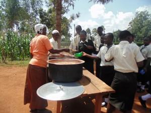 The Water Project : 9-kenya4834-school-lunch