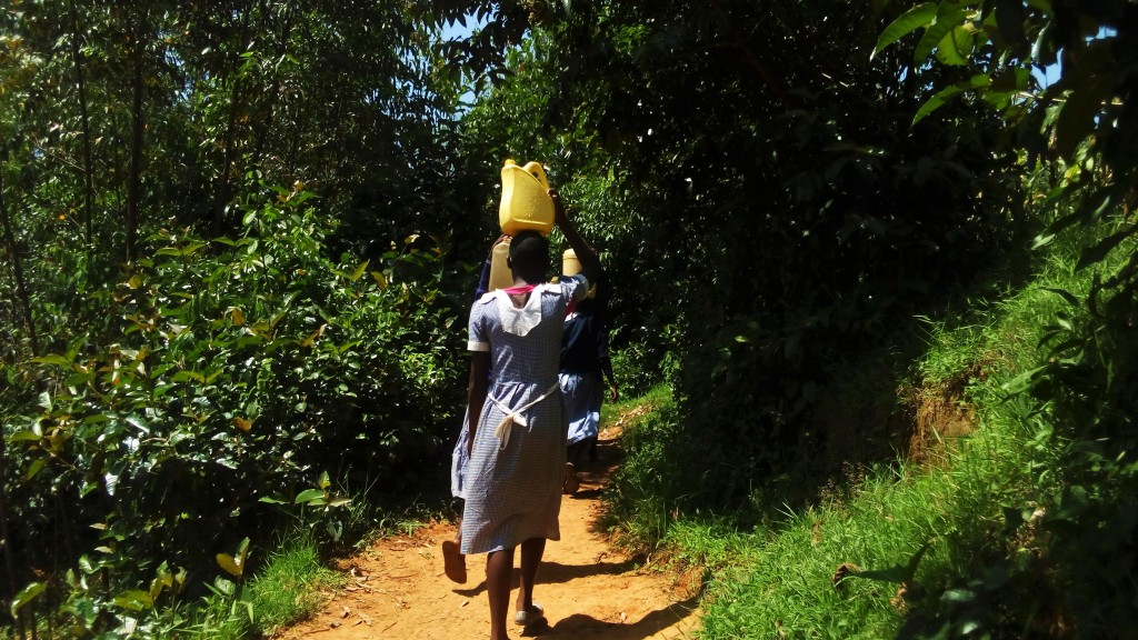 The Water Project : 9-kenya4836-carrying-water