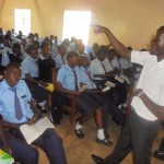 The Water Project: Digula Secondary School -  Erick Wagaka During The Training
