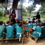 The Water Project: Kalenda Primary School -  Training
