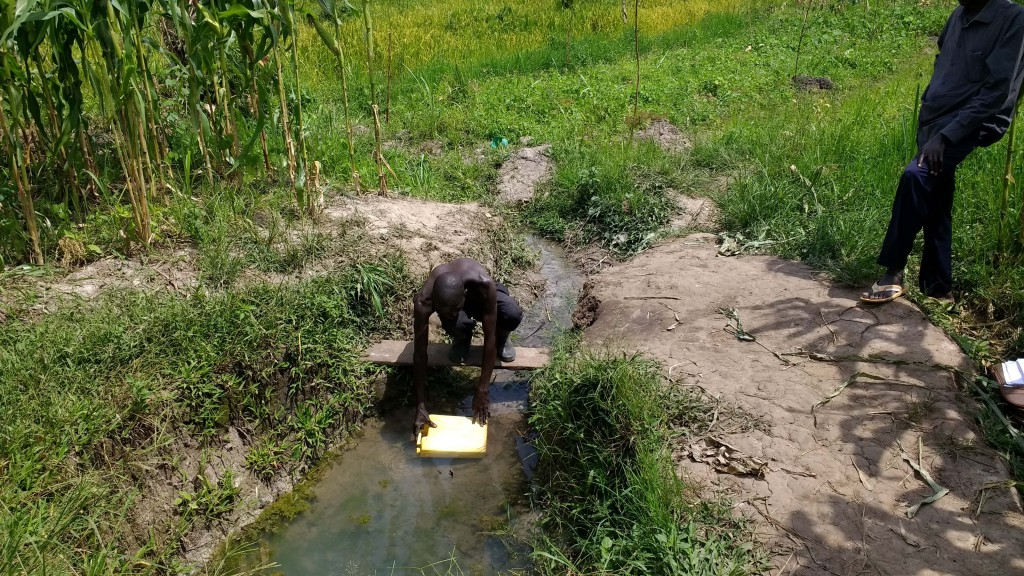 The Water Project : 1-uganda6087-fetching-water