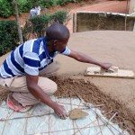 The Water Project: Essaba Primary School -  Tank Construction