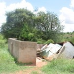 The Water Project: Uvaani Secondary School -  Boys Latrines