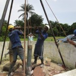 The Water Project: Kulafai Rashideen Primary School -  Drilling