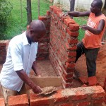 The Water Project: Essaba Primary School -  Latrines Construction