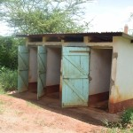 The Water Project: Uvaani Secondary School -  Girls Latrines
