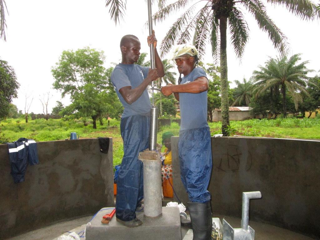 12 sierraleone5118 pump installation